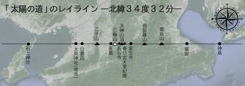 第ニ十一回 『太陽の道の謎』
