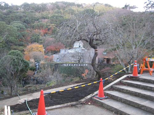 韓国庭園前工事(071214).JPG